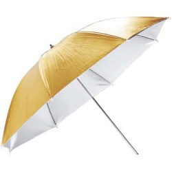 "Godox Reversible Reflective Umbrella 84cm (33"", Gold/Silver)"