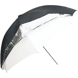 "Godox Dual-Duty Reflective Umbrella 101cm (40"", Black/Silver/White)"